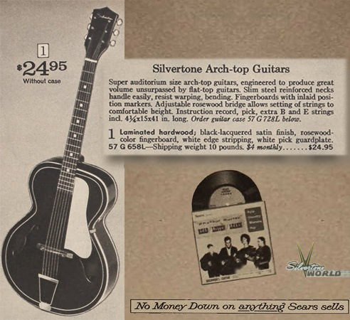 dating silvertone archtop guitars Product features old harmony, kay,silvertone, epiphone, gibson and other archtop guitars.