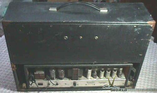 Silvertone World Amplifiers 1960s Model 1484