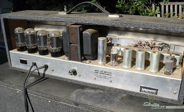 Silvertone World Amplifiers 1960s Model 1485
