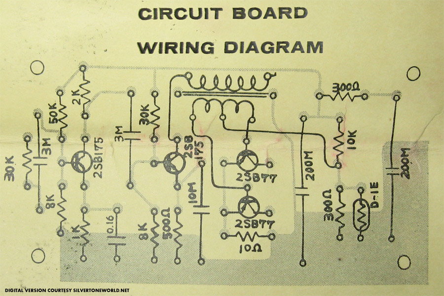 Silvertone Bass Guitar Wiring Diagram : Silvertone guitar wiring diagram